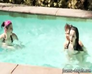 Goth Slut Fucked In Pool - scene 3