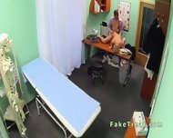 Doctor Fucks Blonde Sales Woman In An Office - scene 11