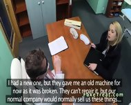 Doctor Fucks Blonde Sales Woman In An Office - scene 3