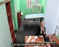 Doctor Fucks Blonde Sales Woman In An Office - scene 4