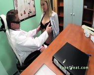 Doctor Fucks Blonde Sales Woman In An Office - scene 5