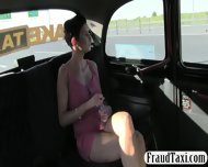 Big Juggs Amateur Milf Fucked The Driver To Off Her Fare - scene 2