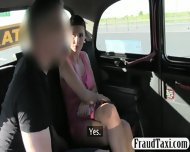 Big Juggs Amateur Milf Fucked The Driver To Off Her Fare - scene 3