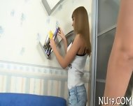 Naked Teen Makes Love - scene 2