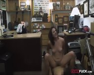Customers Wife Pounded With Pawnkeeper At The Pawnshop - scene 12