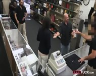 Customers Wife Pounded With Pawnkeeper At The Pawnshop - scene 2