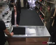 Customers Wife Pounded With Pawnkeeper At The Pawnshop - scene 3