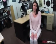 Customers Wife Pounded With Pawnkeeper At The Pawnshop - scene 4