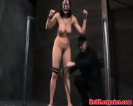 Bdsm Sub Restrained From Head To Toe - scene 9
