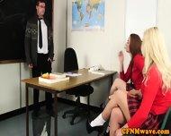Cfnm Babe Victoria Summers Jerks Teacher - scene 4