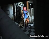Sexy Blue 3d Cartoon Babe Gets Fucked By Magneto - scene 11