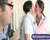 History Prof Ava Addams Crazy Threesome With Her Students - scene 2