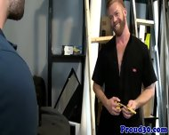Gay Mature Boss Fucked By The New Start - scene 3