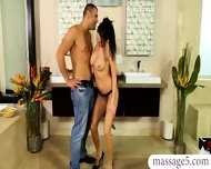 Seductive Masseuse Gave A Full Service Massage To Bfs Dad - scene 2