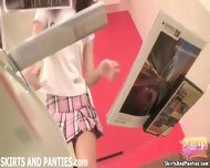 Cute Teen Lara Flashing Her Panties While Cleaning Up - scene 1