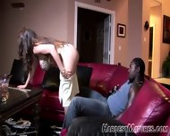 Mature Give A Lot Younger Guy A Striptease - scene 6
