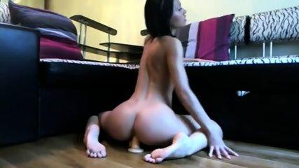 Dark Haired Busty Girl Shows Her Incredible Skills - scene 12
