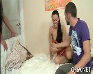 Chick Having Hot Group Sex - scene 2