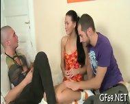 Chick Having Hot Group Sex - scene 5