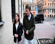 Teen Babe Pleases Her Stud - scene 4