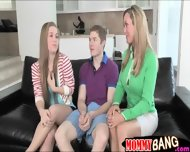 Teen Girl Threesome Sex With Her Stepmom Brandi Love - scene 2