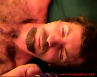 Mature Straight Bear Dilf Gets A Facial - scene 4