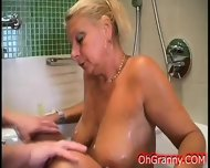 In The Warm Soapy Bath With Granny - scene 2