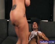Luscious Brunette Wants His Thick Cock - scene 12