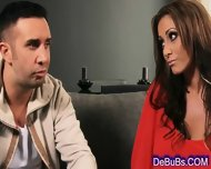 Luscious Brunette Wants His Thick Cock - scene 2