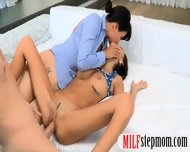 Two Horny Women Sharing On Warm Cumload After Getting Fucked - scene 8