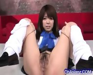Sexy Young Asian Girl Gets Her Pussy Shaved - scene 2