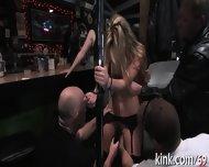 Rough Pleasuring For A Horny Twa - scene 8