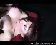 Old Guy Sucked By An Old Big Breasted Wo - scene 7