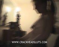 Crackhead With Pancake Tits Sucks Dick - scene 8