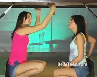 Upside Down Gloryhole Teen Tease - scene 8