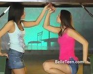 Upside Down Gloryhole Teen Tease - scene 4
