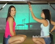 Upside Down Gloryhole Teen Tease - scene 7
