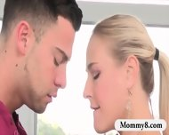 Stepmom Angel Allwood Hot Threeway Sex With Naughty Couple - scene 2