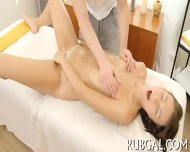 Teenie Sucks Dick During Massage - scene 5