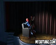 Hot Blue 3d Cartoon Babe Getting Fucked By Deadpool - scene 4