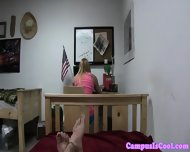 College Teen Drilled Doggystyle - scene 11