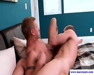 Real Muscular Straight Sucking Hunk - scene 7