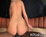 Gal Gets Black Rod In Ass - scene 12