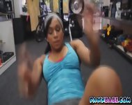 A Muscular Chick Who Gave The Pawnman A Good Blowjob - scene 2