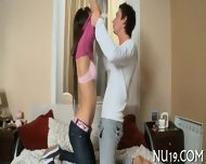 Naked Teen Bends Over - scene 6