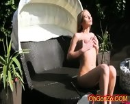 Hot Youung Naked Blonde With Luscious Boobs - scene 7