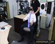 Jobless Dude Sells His Office Stuffs And Receivess A Deepthroat - scene 5