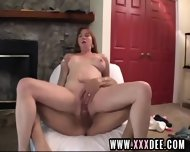 Busty Aged Cock Rider - scene 9