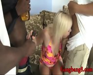 Slutty Whore Alice Frost Double Banged By Big Black Cocks - scene 3