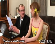Lusty Offering For Old Teacher - scene 4